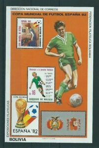 Bolivia,1982,World Cup,Football,MNH