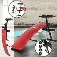 Sit-Up Bank Klapp/Verstellbar Bauchtrainer Trainingsbank Fitness Rückentrainer
