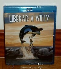 LIBERAD A WILLY FREE WILLY BLU-RAY NUEVO PRECINTADO NEW SEALED AVENTURAS ACCION