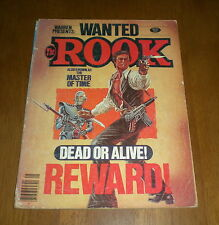 1979 THE ROOK WANTED DEAD OR ALIVE MAGAZINE