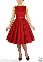 vintage rockabilly dress swing women party 60s new 50s cocktail ladies pin up s