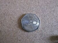 Sir Isaac Newton 50p Fifty Pence coin 2017 - Free Postage - Uncirculated