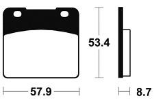 Plaquettes de frein Bendix MR77 Métal fritté. pour SUZUKI