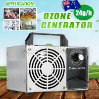 AU 24g Ozone Generator Air Purifier Disinfection Machine Cleaner Sterilizer Home