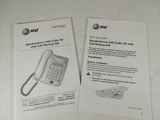 AT&T 950 Speakerphone User's Manual And Quick Start Guide