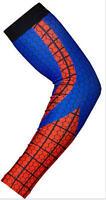 Baseball Basketball Sports Compression Dri-Fit Arm Sleeve (Spiderman)