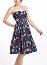 Anthropologie Native Birds Dress by Maeve 2 S Small XS Retro Vintage Swing