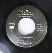 Pop 45 Phill Collins - I Wish It Would Rain Down / You'Ve Been In Love (That Lit