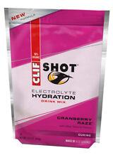 Clif Bar Clif Shot Hydration Drink Mix Cranberry Razz Pouch 15.5oz - 20 Servings