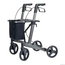 Mobility Aids Walking Frame Rollator *Indoor/Outdoor Light Side-Fold* - Brado