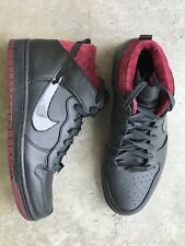 NIKE MEN'S DUNK CMFT PRM QS Coffin sz 10 716714-003 concept hi supreme
