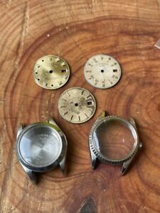 ROLEX REF. 6517 WITH WHITE GOLD BEZEL AND OTHERS PARTS THE ROLEX