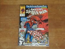 AMAZING SPIDER-MAN #325 HIGH GRADE MCFARLANE ART RED SKULL COVER CAPTAIN AMERICA
