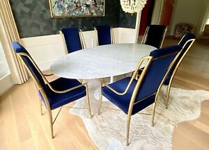 """Set of Six """"Imperial"""" Dining Chairs, Weiman/Warren Lloyd for Mastercraft"""