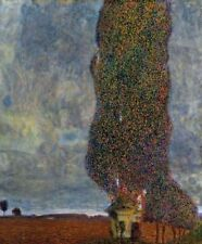 Approaching Thunderstorm Gustav Klimt Canvas Art Print Wall Decor Small 8x10