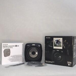 Fujifilm Instax SQ20 Hybrid Digital Camera Printer Matte Black