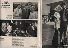 Coupure de presse Clipping 1978 John Travolta et Olivia Newton Jones  (2 pages)