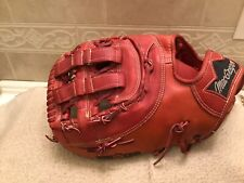 "MacGregor USA RED Big Dipper 13"" Baseball Softball First Base Mitt Left Throw"