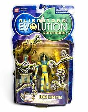 Alienators: Evolution Ira Kane with lab box Action Figure play set Bandai Rare