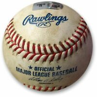 Los Angeles Dodgers vs New York Mets Game Used Baseball 08/22/14 MLB Holo