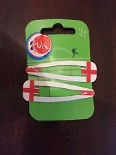 CHRISTMAS GIRLS ENGLAND HAIR GRIPS PACK OF 2 INC IN THE PRICE REDUCED TODAY