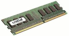 Crucial CT12864AA667 1 GB (ddr2 667 MHz Pc2-5300 Unbuffered DIMM 240-pin) M