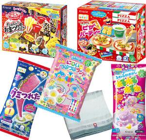 Popin Cookin kracie DIY Candy kit 5 kinds set w/ Imabari towel Japanese Candy