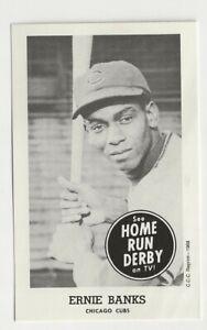 Ernie Banks  Home Run Derby 1988 Reprint - Chicago Cubs