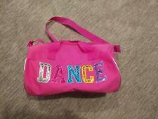Girls Dance Duffle Bag  Fuchsia Hot Pink
