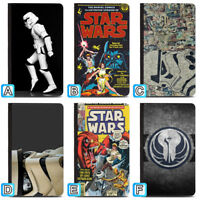 Star Wars Film Poster Passport Holder Travel PU Leather Cover Case ID Wallet