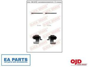 Accessory Kit, disc brake pads for FIAT FORD LANCIA QUICK BRAKE 109-1273