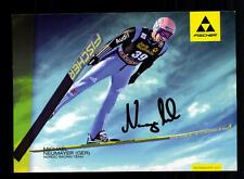 Michael Neumayer autografiada mapa original firmado esquí + a 134492