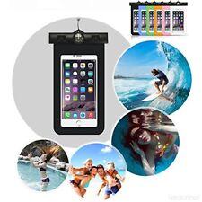 """CUSTODIA IMPERMEABILE SMARTPHONE 6""""+ COVER TPU TRASPARENTE PER Huawei Honor 6c"""