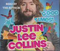 Justin Lee Collins Good Times 3CD Audio Book Abridged Autobiography FASTPOST