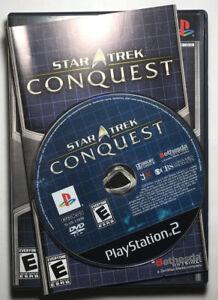Star Trek: Conquest (Sony PlayStation 2, 2007) PS2 Complete CIB
