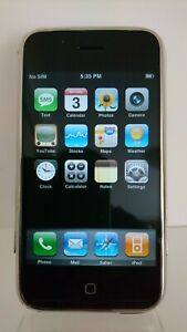 Apple iPhone 2G 4GB 1st Generation A1203 2007 (AT&T) iOS 1.0 Rare UK Stock
