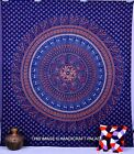 Indian Mandala Bedspread Ethnic Throw Wall Hanging Tapestry Queen Size Bed Cover