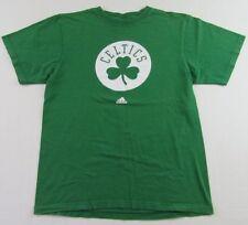 Boston Celtics Nba Basketball Shamrock Logo Green Ss Adidas T Shirt Size L