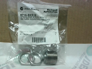 Allen Bradley 871A BXS18 /A SS Mounting Bracket for 18mm Prox - Factory Sealed