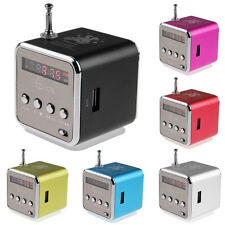 Lautsprecher FM Radio USB TF-Slot Kartenleser Portable Musik Würfel MP3/4 N