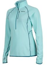 New Marmot Womens Neothermo 1/2 Zip# 89760 Size Xl Color Blue Tint