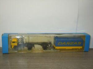 Magirus Truck Danzas - Roco Miniatur Modell 1:87 in Box *46515
