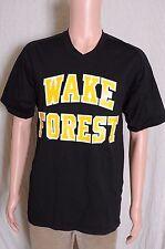 Vintage 1977-78 Wake Forest Basketball black shooting shirt #11 Fran McCaffery S