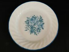 Corelle Blue Velvet SALAD PLATE have more pieces to set Roses
