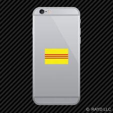 South Vietnam Flag Cell Phone Sticker Mobile Die Cut