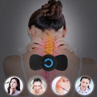 Portable Mini Electric Neck Massager Cervical Massage Stimulator Pain Relief HOT