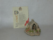 """Fisherman'S Bothy"" 1990 Lilliput Lane Cottage W/ Deeds - Mib"