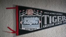 1968 Detroit Tigers World Series Photo Pennant Full Size
