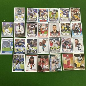 NFL 2020 STICKER AND CARD COLLECTION Lot x22 🔥 Rookie RC Fathead 🔥 Investment