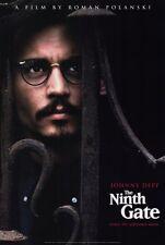 THE NINTH GATE Movie POSTER 27x40 Johnny Depp Frank Langella Lena Olin